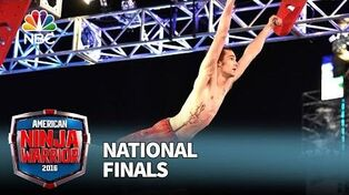 Thomas Stillings at the National Finals- Stage 1 - American Ninja Warrior 2016
