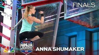Anna Shumaker at the Los Angeles City Finals - American Ninja Warrior 2018