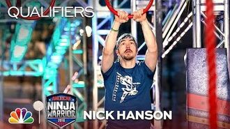 Nick Hanson at the Los Angeles City Qualifiers - American Ninja Warrior 2018