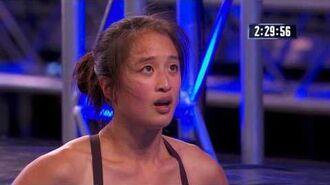 Andrea Hah semi-final run Australian Ninja Warrior 2017