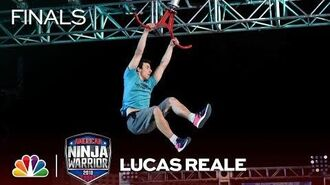 Lucas Reale at the Vegas Finals- Stage 1 - American Ninja Warrior 2018