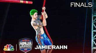 Jamie Rahn Goes Barefoot at the Vegas Finals- Stage 1 - American Ninja Warrior 2018