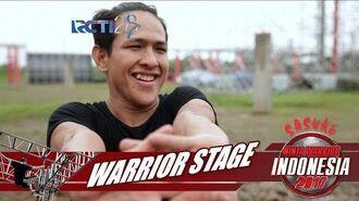 SASUKE NINJA WARRIOR INDONESIA - M Ibnu Rusdy aka Noe Di Warrior Stage 12 Agustus 2017