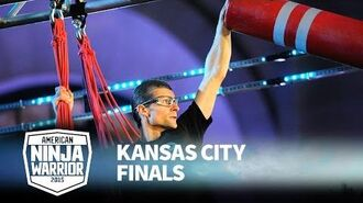 Brendan Couvreux at 2015 Kansas City Finals - American Ninja Warrior
