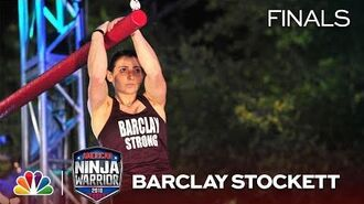 Barclay Stockett at the Dallas City Finals - American Ninja Warrior 2018