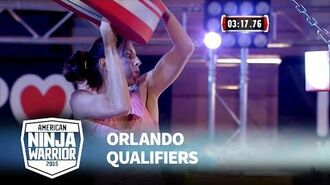 Mary Beth Wang at 2015 Orlando Qualifiers - American Ninja Warrior