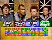 Thirty Semifinal 2001