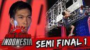 Angga Cahya 'Atlet Panjat Tebing Asal Balik Papan' Sasuke Ninja Warrior Indonesia 20 Mar 2016