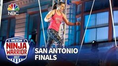 Barclay Stockett at the San Antonio City Finals - American Ninja Warrior 2017