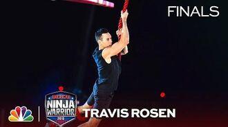 Travis Rosen's Painful Run at the Vegas Finals- Stage 1 - American Ninja Warrior 2018