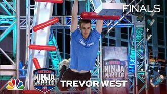 Trevor West at the Indianapolis City Finals - American Ninja Warrior 2018