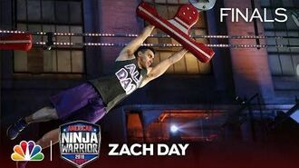 Zach Day at the Philadelphia City Finals - American Ninja Warrior 2018