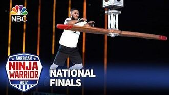 JJ Woods at the Las Vegas National Finals- Stage 1 - American Ninja Warrior 2017