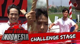 Muhammad Ibnu Rusdi 'Pengen di panggil Ninja Noe' Sasuke Ninja Warrior Indonesia 17 Jan 2016