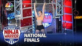 Allyssa Beird at the Las Vegas National Finals- Stage 2 - American Ninja Warrior 2017