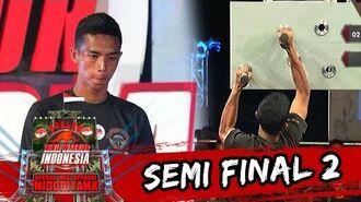 Jajang Wildan 'Tidak Ada Kesulitan Di Tiap Rintangan' Sasuke Ninja Warrior Indonesia 5 Jun 2016
