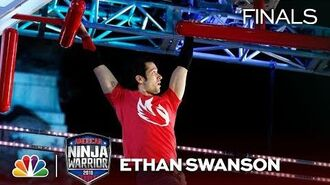 Ethan Swanson at the Indianapolis City Finals - American Ninja Warrior 2018