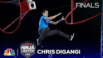 Chris DiGangi at the Vegas Finals- Stage 1 - American Ninja Warrior 2019
