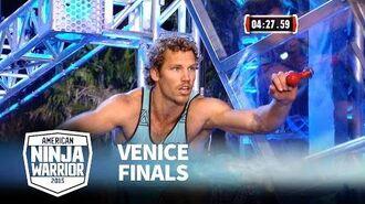 Grant McCartney at 2015 Venice Finals - American Ninja Warrior
