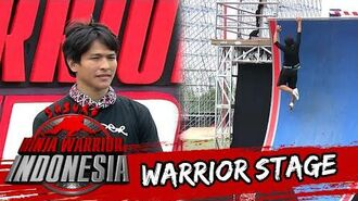 Mohammad Ibnu Rusdy Hampir Gagal Di Warped Wall Sasuke Ninja Warrior Indonesia 31 Jan 2016
