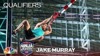 Jake Murray at the Minneapolis City Qualifiers - American Ninja Warrior 2018