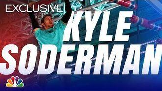 Kyle Soderman Slips Up - American Ninja Warrior Los Angeles City Finals 2019 (Digital Exclusive)