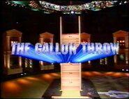 The Gallon Throw 2001
