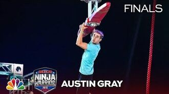 Austin Gray at the Vegas Finals- Stage 1 - American Ninja Warrior 2018
