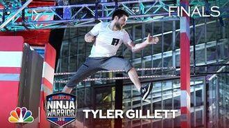 Tyler Gillett at the Minneapolis City Finals - American Ninja Warrior 2018