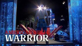 Kevin Bull at the 2014 Venice City Finals - American Ninja Warrior