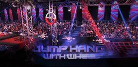 NWUK3 Jump Hang with Wheel