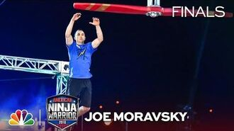 Joe Moravsky at the Vegas Finals- Stage 1 - American Ninja Warrior 2018