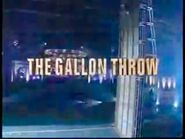 The Gallon Throw 2007