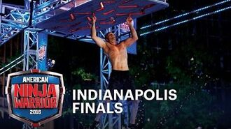 Brian Arnold's Return at the 2016 Indianapolis Finals - American Ninja Warrior