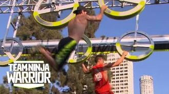 Season 2, Episode 12- Team Ronin And Towers Of Power Neck And Neck In Relay - Team Ninja Warrior