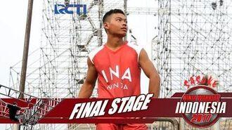 SASUKE NINJA WARRIOR INDONESIA - Tri Mardiyanto Di Final Stage 23 Desember 2017