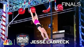 Jesse Labreck's Historic Run - American Ninja Warrior Cincinnati City Finals 2019