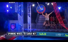 -08- Spinning Wheel to Cargo Net