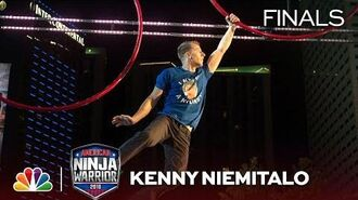Kenny Niemitalo at the Miami City Finals - American Ninja Warrior 2018
