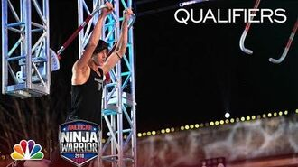 "Mathis ""Kid"" Owhadi at the Dallas City Qualifiers - American Ninja Warrior 2018"