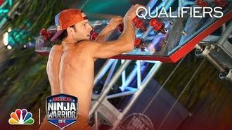 Thomas Kofron at the Los Angeles City Qualifiers - American Ninja Warrior 2018