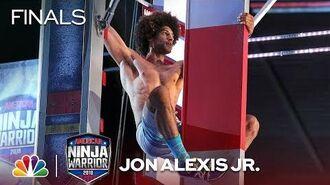 Jon Alexis Jr. at the Minneapolis City Finals - American Ninja Warrior 2018