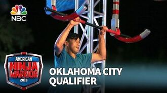 Kyle Mendoza at the Oklahoma City Qualifier - American Ninja Warrior 2016