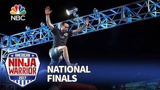 Joe Moravsky at the Las Vegas National Finals- Stage 1 - American Ninja Warrior 2017