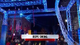 ANW6 Rope Swing Into Cargo Net