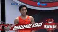 SASUKE NINJA WARRIOR INDONESIA - Angga Cahya Di Challenge Stage 29 Juli 2017