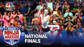 Allyssa Beird at the Las Vegas National Finals- Stage 1 - American Ninja Warrior 2017