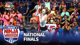 Allyssa Beird at the Las Vegas National Finals- Stage 1 - American Ninja Warrior 2017