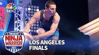 Josh Levin at the Los Angeles City Finals - American Ninja Warrior 2017