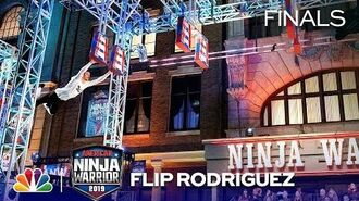 Flip Rodriguez's Stunning Run - American Ninja Warrior Los Angeles City Finals 2019